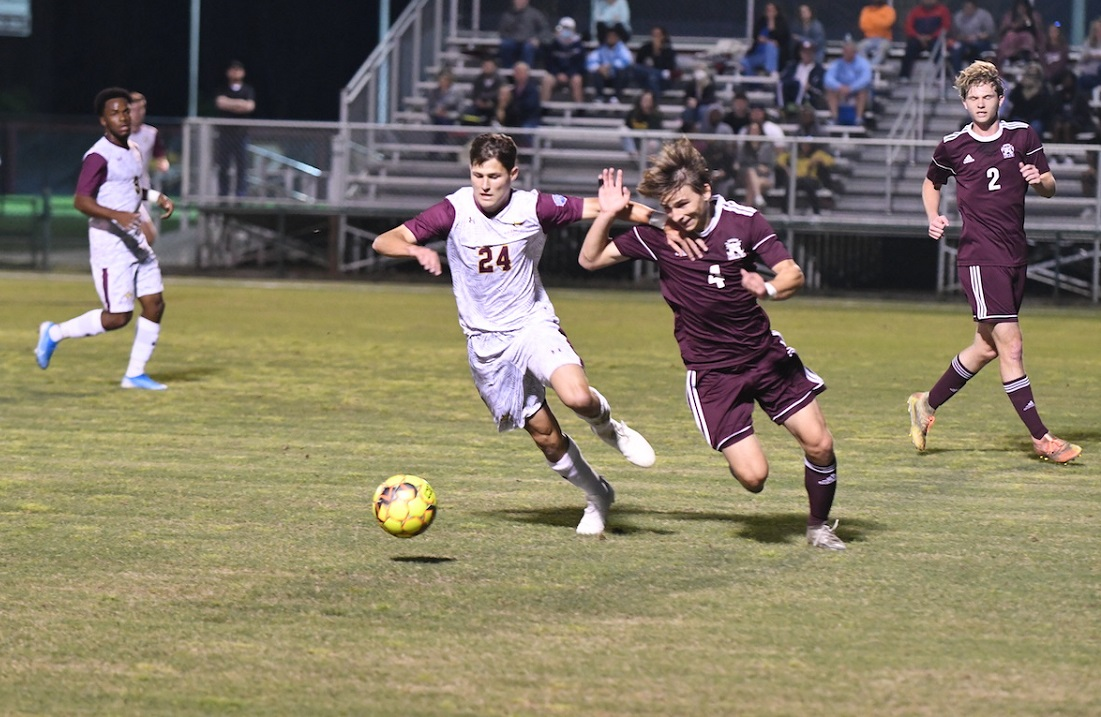 Dustin Cuevas scored a goal in the Wildcats 2-1 win over East Central Tuesday night. (PRCCAthletics)