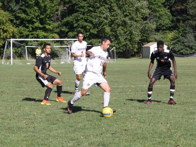 Men's Soccer: Defeat Phantoms 8-2