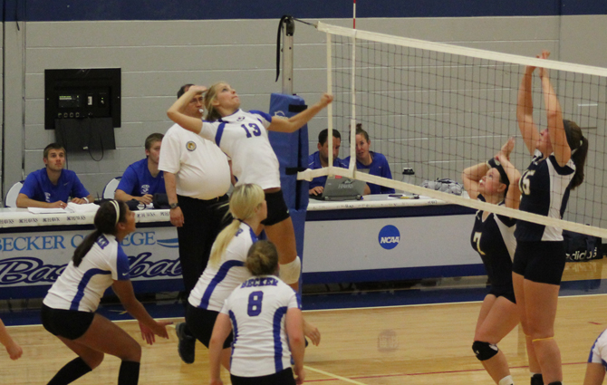 Volleyball Drops 3-1 Decision At Newbury