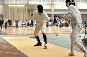 Bedor finishes sixth in epee for men's fencing, will head to nationals