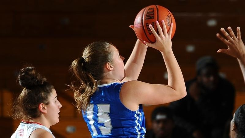 Women's Basketball Set Back at Bryant on Saturday