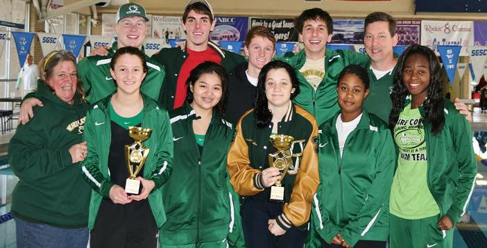 Gator Swim Team finishes second in Douglas