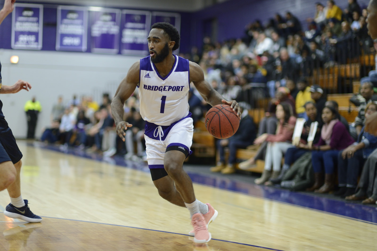 Men's Basketball Races Out To Big Lead And Holds On To Defeat Post University, 85-79