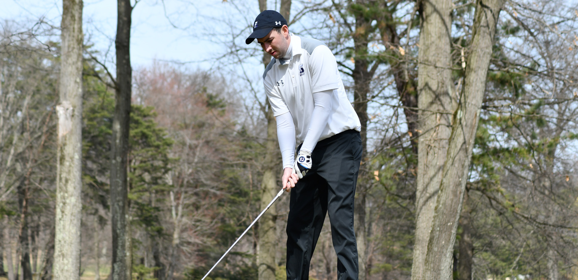 Senior Kyle Hayes was the individual medalist on Thursday as Scranton remained unbeaten on the season with wins over Marywood and Centenary.