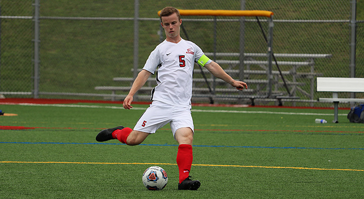 Spot Kicks Lift Morrisville Over Wells Men's Soccer