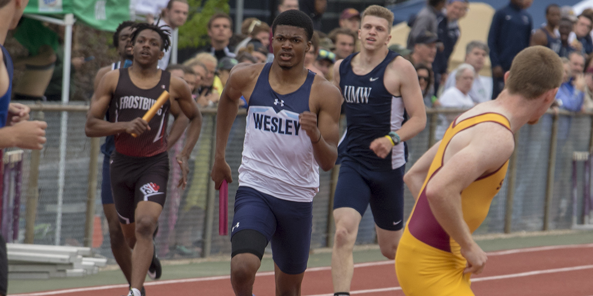 Wesley Track & Field stands out at Navy Invitational