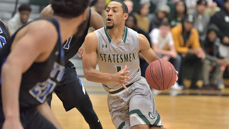 No. 18 Richard Bland Wins At No. 20 Bryant & Stratton 82-65