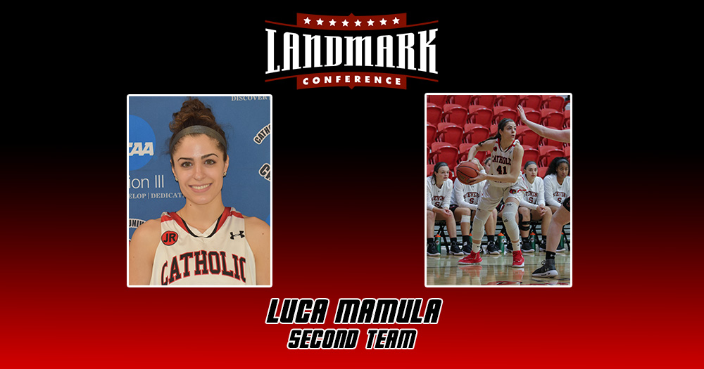 Mamula Named to All-Landmark Conference Second Team