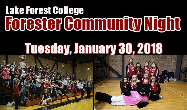 Forester Athletics To Host Community Night On January 30