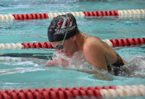 Swimming: Panther teams compete in first ever relay only meet