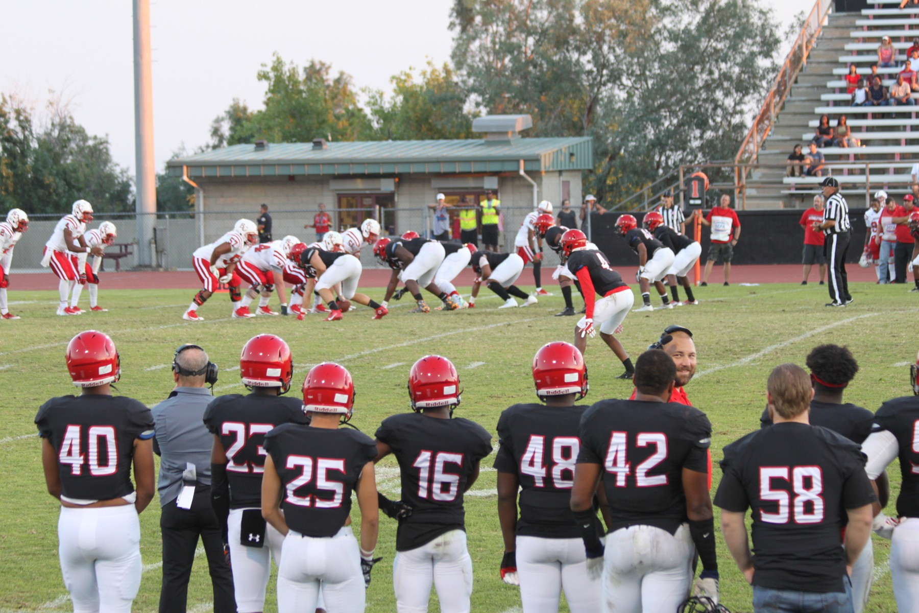 Football game vs Bakersfield College Renegades