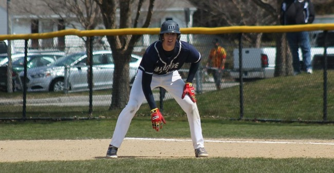 Kennedy, Schenning Collect Hits As Baseball Drops 5-0 Decision To Babson In Home Opener