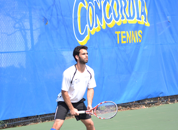 Daniele Piludu Named CACC Player of the Week in Men's Tennis