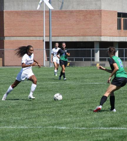 Sisters Lead Soccer To Win