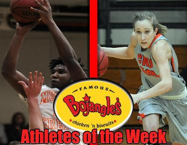 It's a Brooks sweep for Bojangles Athletes of the Week
