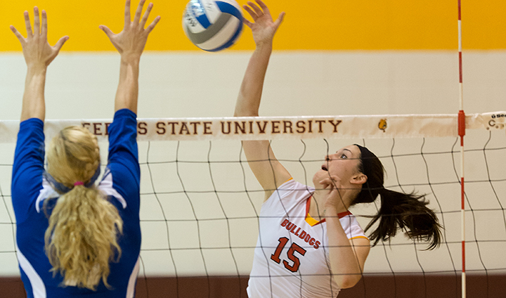 Ferris State Not Able To Complete Season Sweep Of Rival GVSU