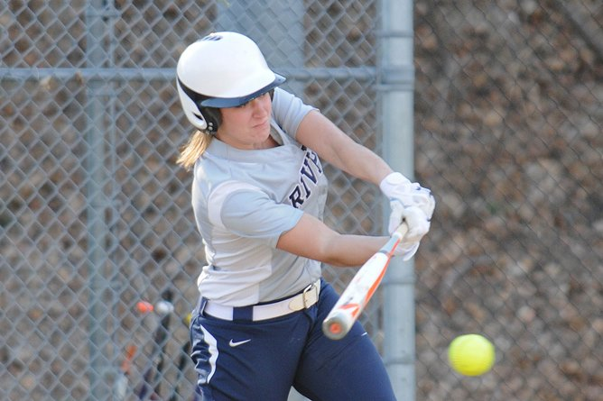 Softball: Rivier sweeps Fisher , 12-3 & 11-3