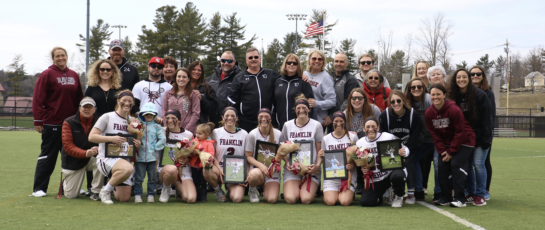 First-Half Barrage Sends Women's Lacrosse on Way to 20-7, Senior Day Win Over AIC