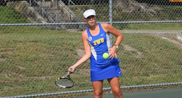 Women's Tennis Starts Fall Campaign With 8-1 Win at WNEU