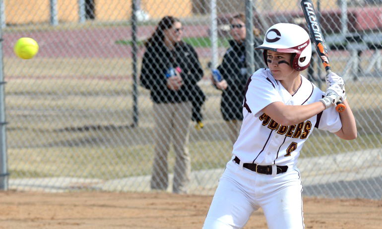 Mackenzie Jensen had two hits in each game and drove in the Cobbers' lone run in their doubleheader at Bethel.