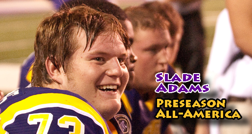 Slade Adams named to preseason FCS All-America team