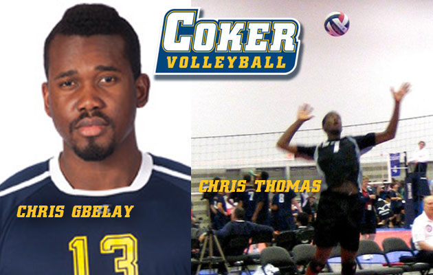 Coker Men's Volleyball Lands Two More