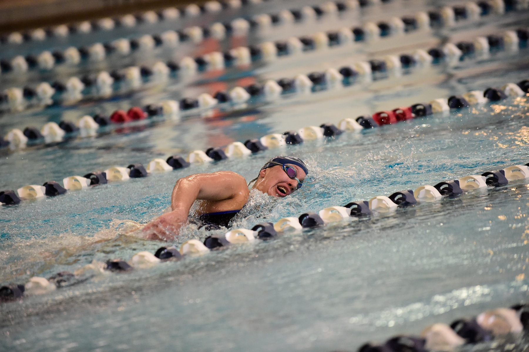 Strong Performances Keep Women's Swimming Out Front at AMCC Championships