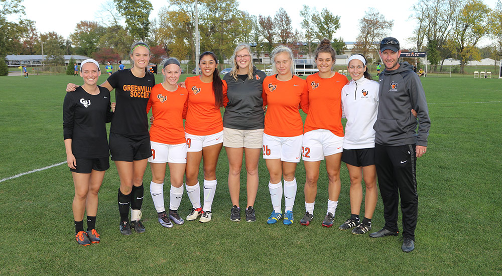 Women's soccer senior day results in 2-0 win