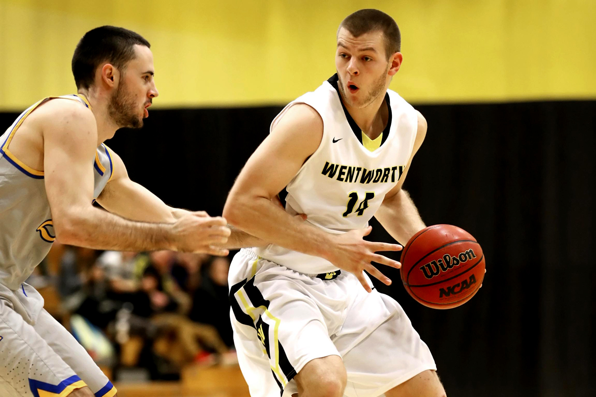 Bison Rally to Defeat Men's Basketball