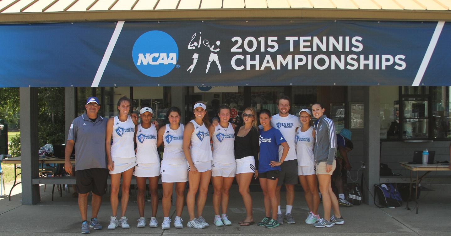 Women's Tennis Heads Back to Nationals with 5-4 wins over West Florida