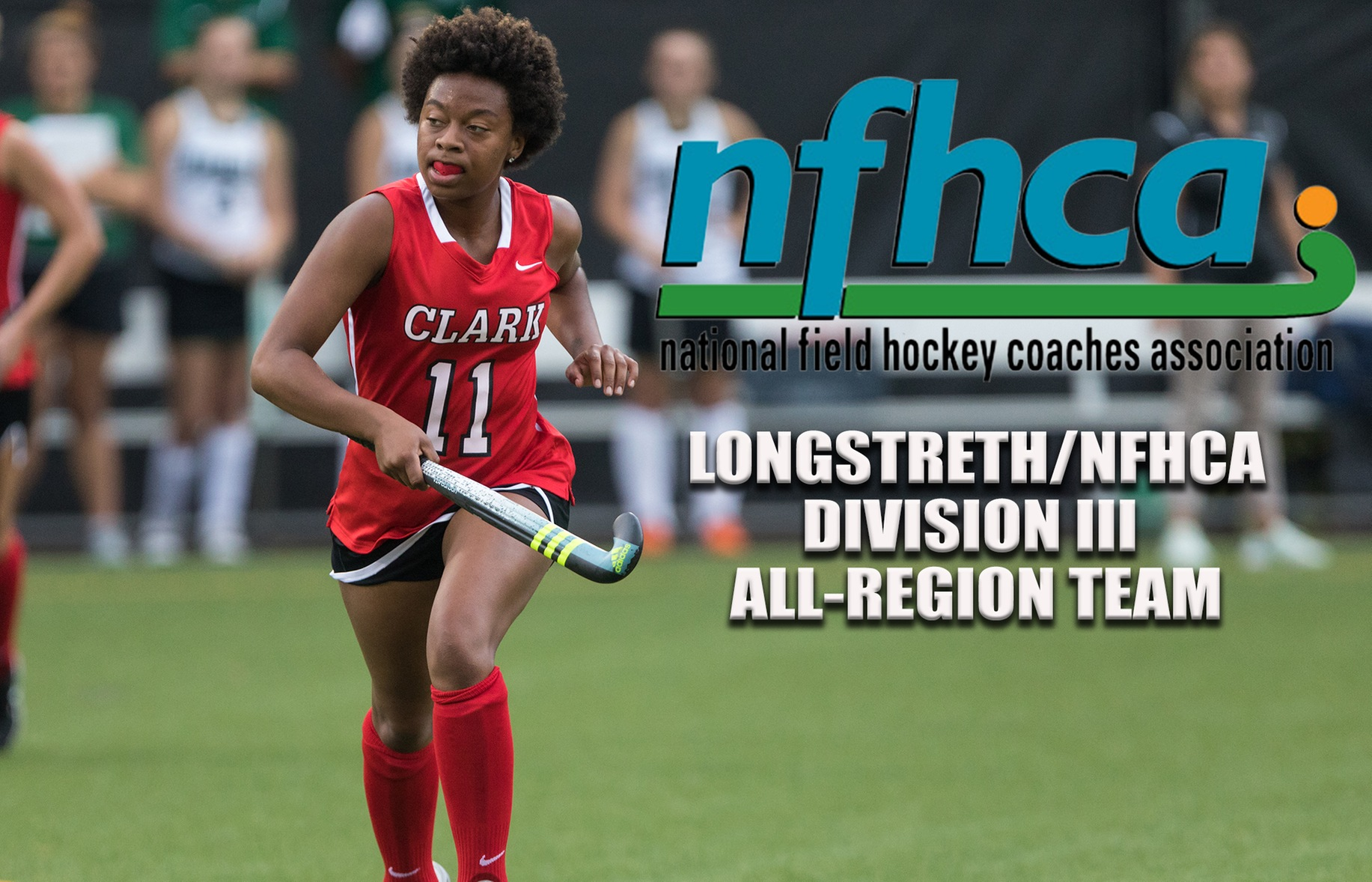 Barksdale Named to NFHCA All-Region Second Team