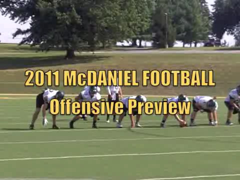 Backfield to guide offense