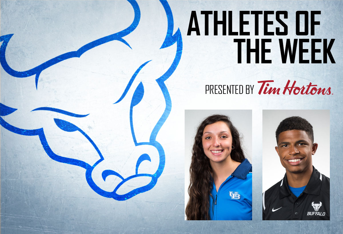 Burns And Atkins Named Athletes Of The Week