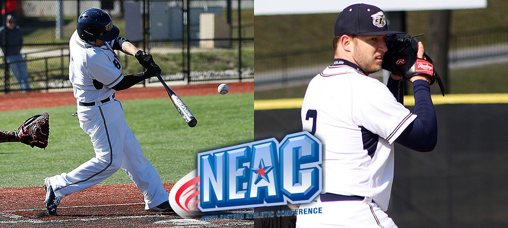 Crawford, Evans sweep NEAC Baseball Student-Athlete of the Week awards