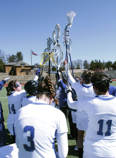 Blue Lacrosse Falls at Endicott