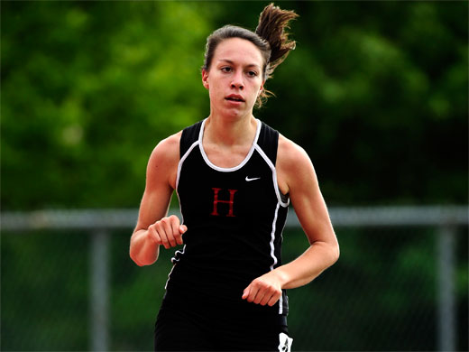 Women's track finishes weekend at Widener Invite