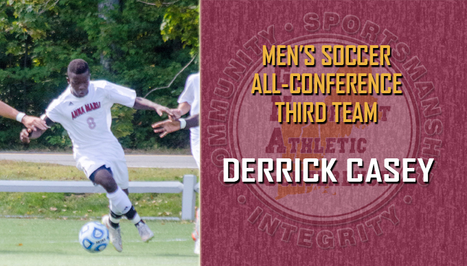 Casey Named to GNAC All-Conference Third Team