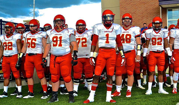 Ferris State Football Puts Unbeaten GLIAC Mark On Line At Walsh This Saturday