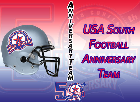 USA South Announces 50th Anniversary Football Team
