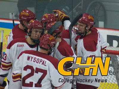 Ferris State Tabbed College Hockey News' Team Of The Week