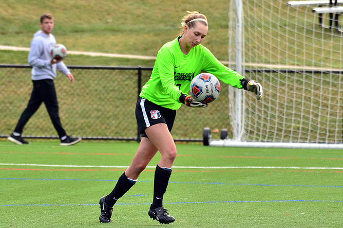 Women's Soccer Keeps Unblemished AMCC Record