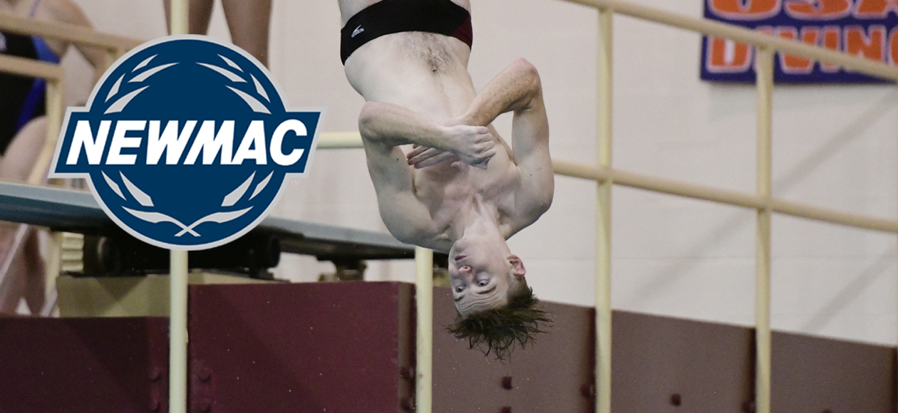 Pennington Garners NEWMAC Men's Diver of the Week Honors