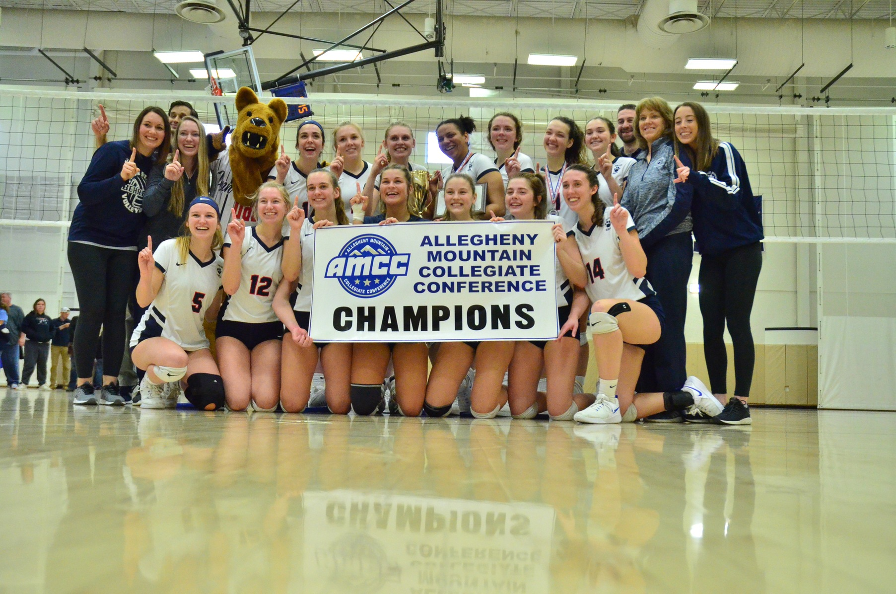Behrend Volleyball Captures Fifth AMCC Championship; Lions Sweep Panthers