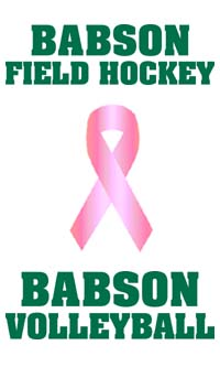 Babson Field Hockey, Women's Volleyball To Raise Money For Breast Cancer Awareness