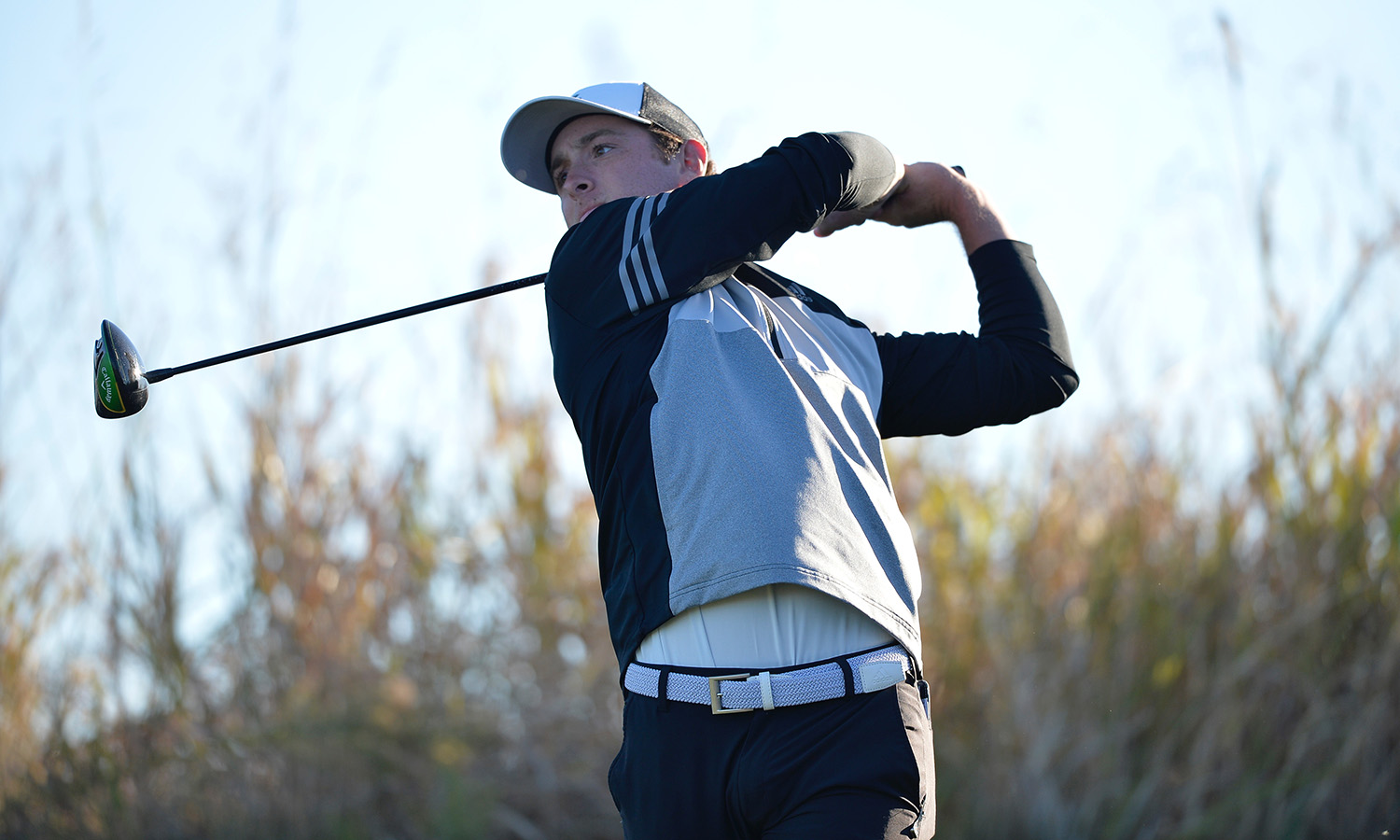 DAVIDSON'S 67 LEADS MEN'S GOLF IN FIRST ROUND AT KA'ANAPALI