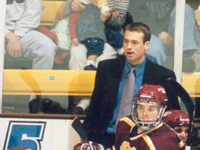 Former FSU player and coach Jeff Blashill tabbed as Western Michigan's men's ice hockey head coach.  (Photo by Joe Gorby)