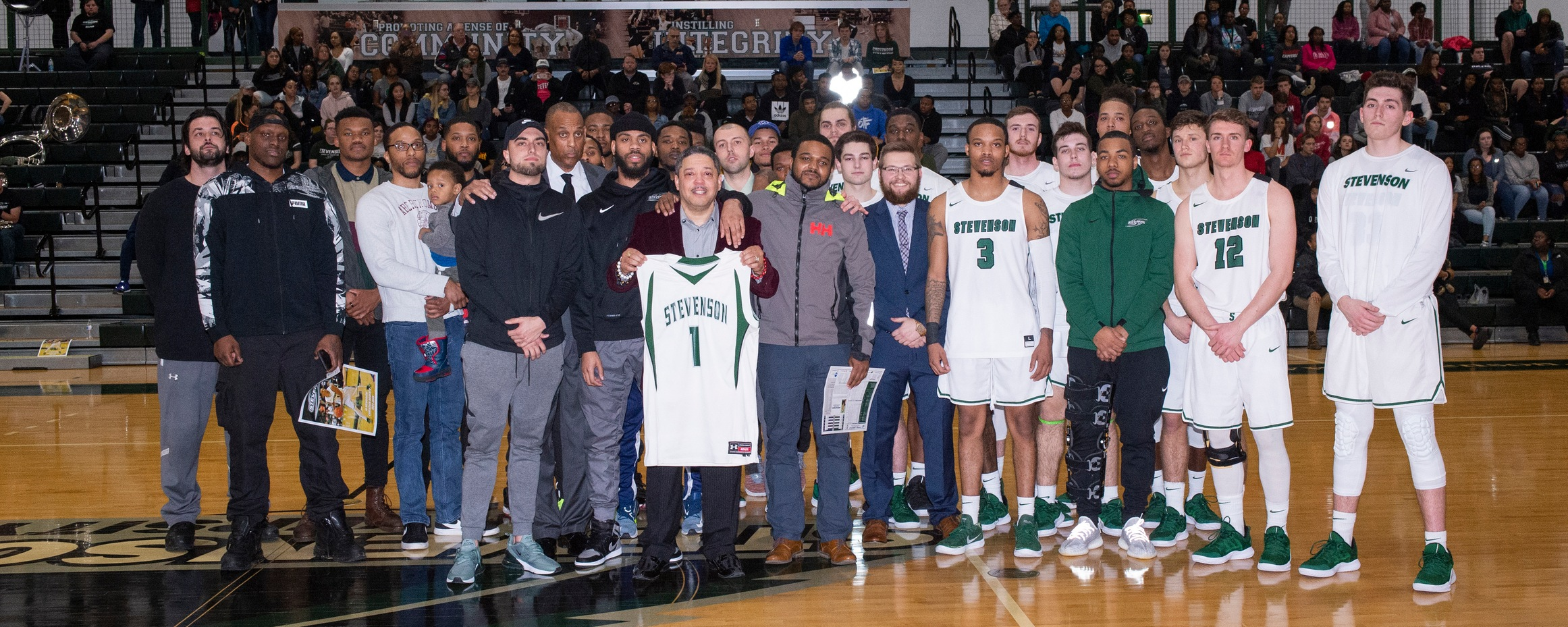 Mustangs Honor Fallen Friend Pregame, But Fall To Lebanon Valley