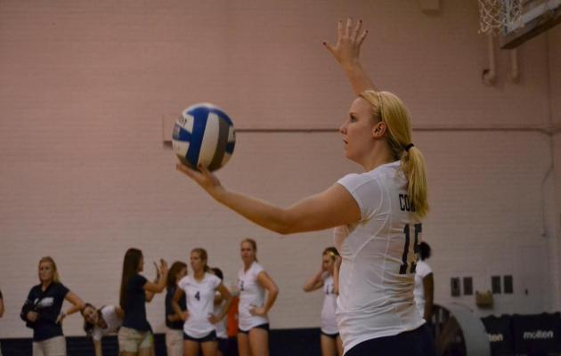 Coker Women's Volleyball Falls to Newberry 3-1