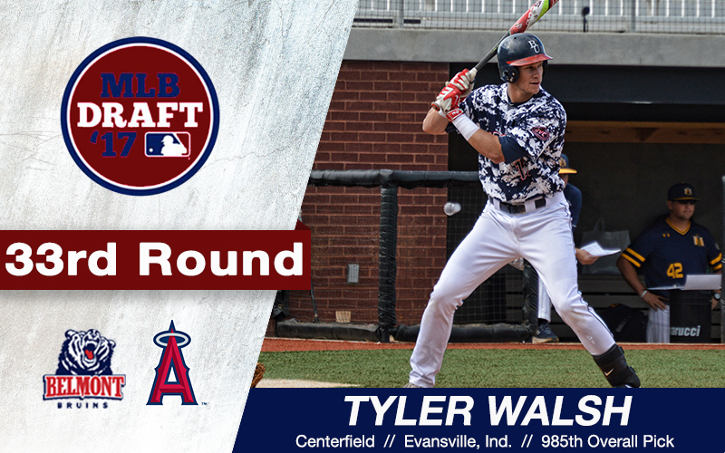 Walsh Taken in MLB Entry Draft