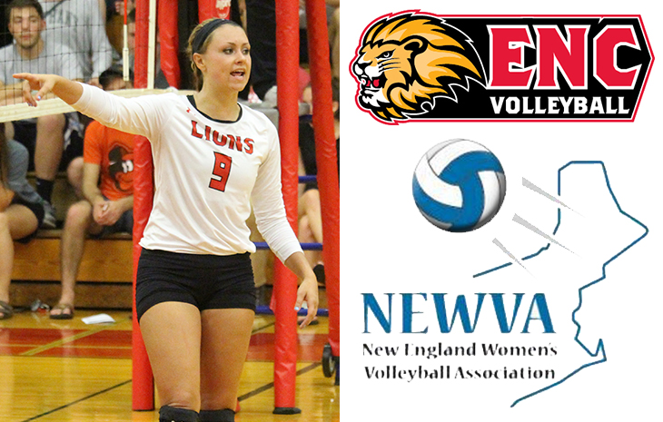 Women's Volleyball's Kayla Dean Receives NEWVA All-Senior Honorable Mention